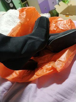 botas negras USADAS
