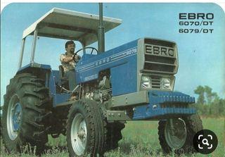 Despiece Ebro 6079 doble traccion