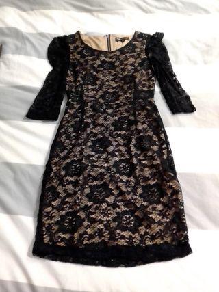 vestido fiesta negro angelEye