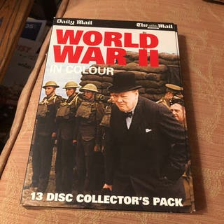 World War 2 In Colours 13 Dvds The Daily Mail
