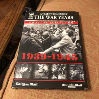 The War Years 7 Dvds The Daily Mail WW2