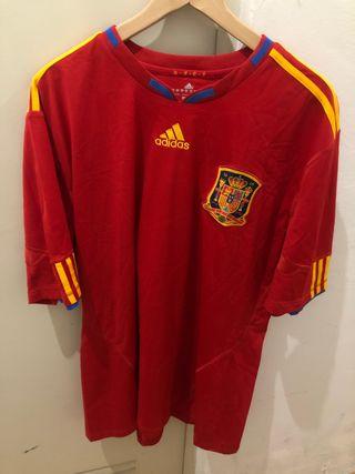 Camiseta España Mundial 2010 Sudáfrica