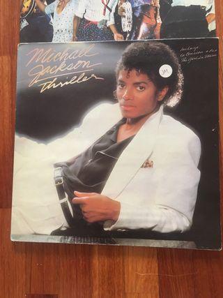 Lote 3 discos vinilo Michael Jackson y Jacksons