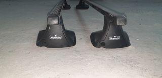 barras de techo (baca coche) Norauto -universales