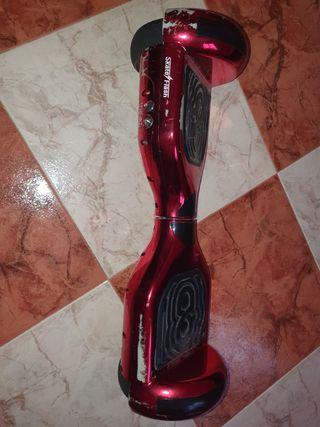 hoverboard + sillin adaptador
