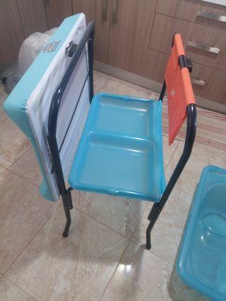 bañera cambiador y silla de auto Concord