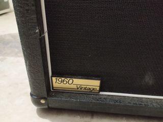 Pantalla guitarra Marshall 1960 V