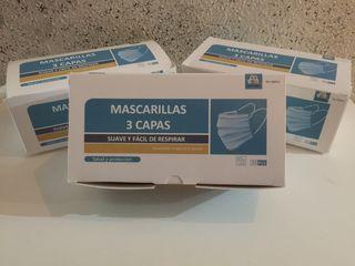 MASCARILLAS DESECHABLES 7€ 50unidades