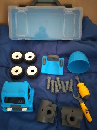 Camion juguete piezas