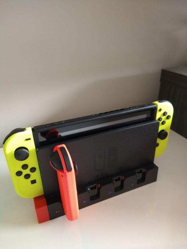 Nueva - Estación de carga para Joy-con de Switch