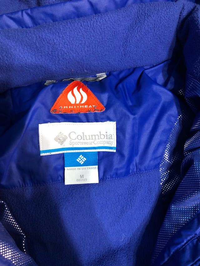 Abrigo columbia