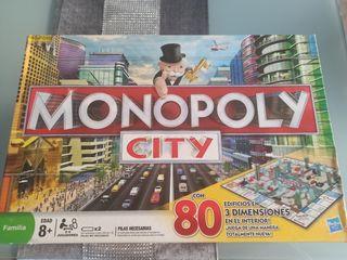 Juego de mesa Monopoly City
