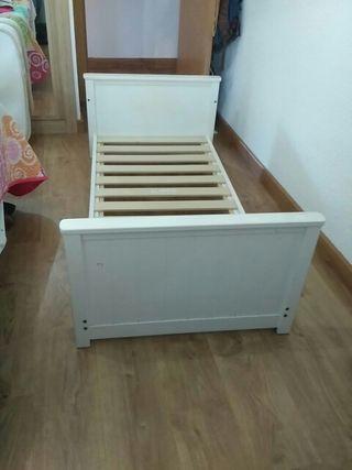 cama infantil con somier
