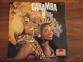 LP CARAMBA, EL MAS PURO RITMO AFRO-CUBANO. VINILO.