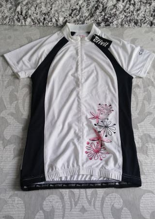 Maillot ciclismo chica.