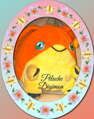Muñeca/co Digimon de Peluche