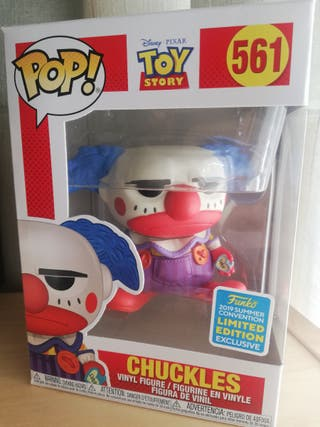 Funko Pop Chuckles Toy Story exclusivo