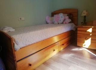 Habitació infantil/juvenil madera pino