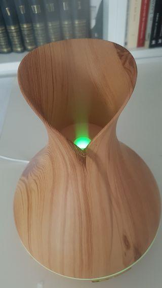Difusor vaporizador aceite esencial aromaterapia