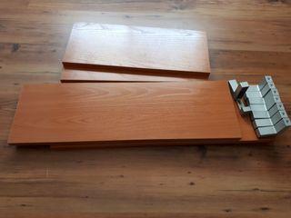 Baldas madera color Cerezo