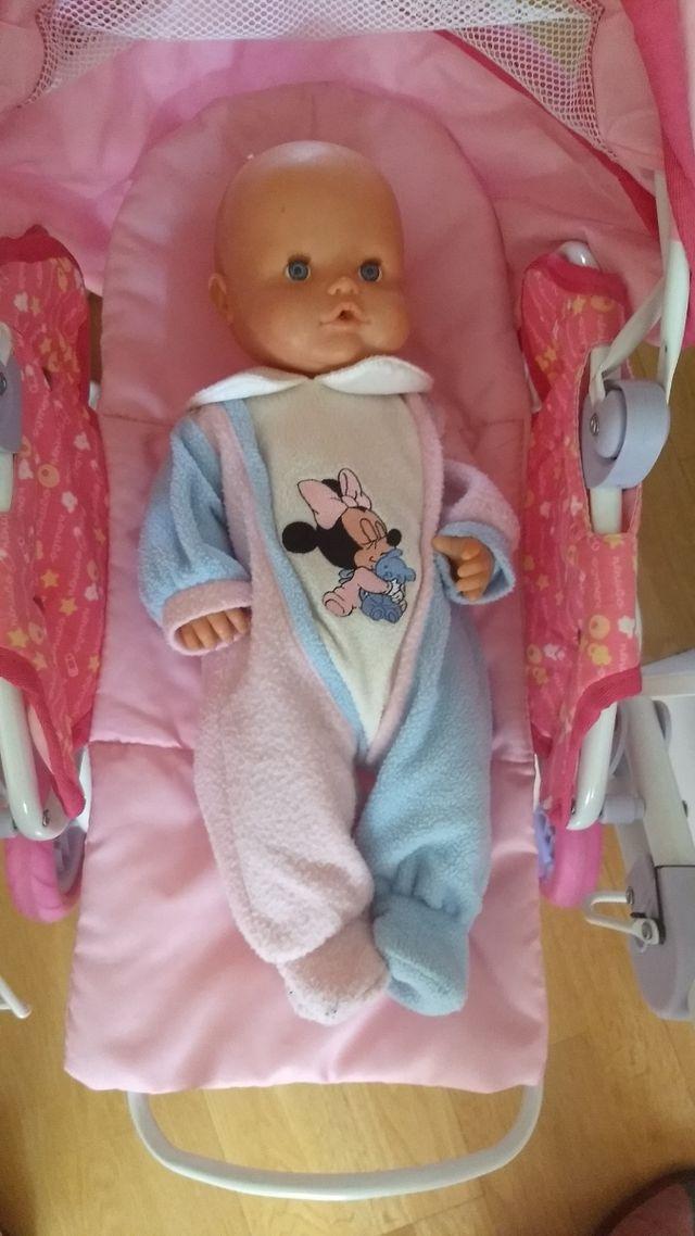 Cochecito Nenuco+cuco Nenuco + Nenuca bebé