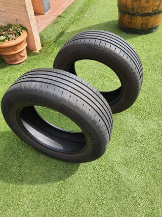 neumáticos continental 215/60/17H