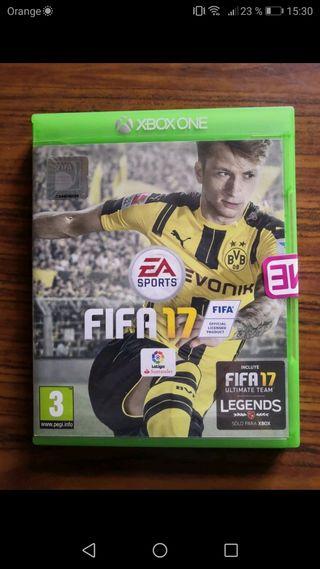 Fifa 17 para Xbox one