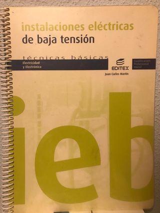 Libro instalaciones eléctricas baja tensión básica