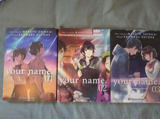 Mangas:tour name