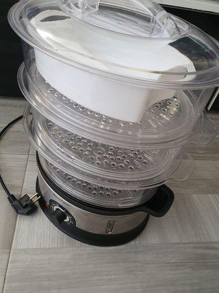 cocedor eléctrico al vapor de Silver Crest de Lidl