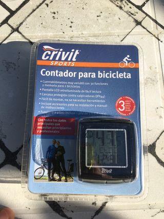 Contador cuentakilometros bicicleta