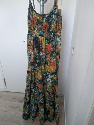 vestido estampado estilo hippie/vintage