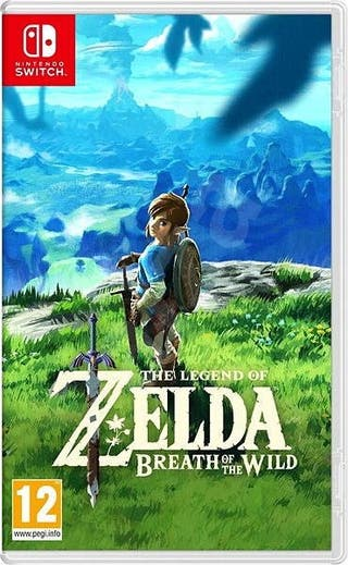 Switch Legend of Zelda: Breath of the Wild