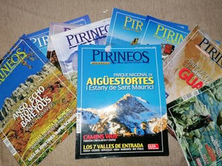 Lote 9 revistas PIRINEOS