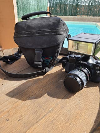 cámara reflex cosina