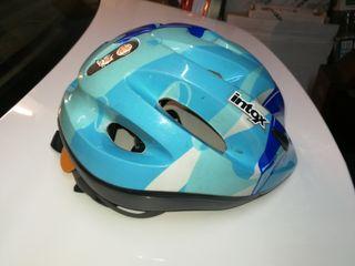 Casco bicicleta niño talla S Intox