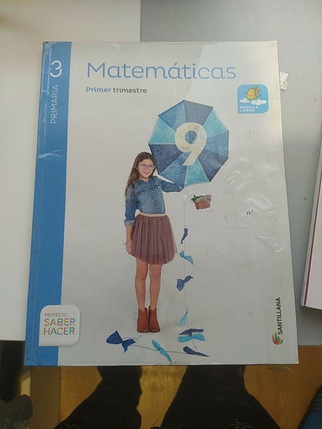 matemáticas Santillana 3 primaria
