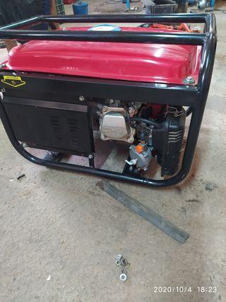 generador a gas y gasolina