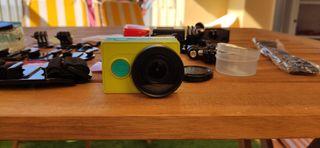 Cámara Action Cam Pack Xiaomi Yi