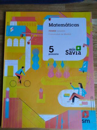 Matemáticas Primer Trimestre 5 Primaria SM