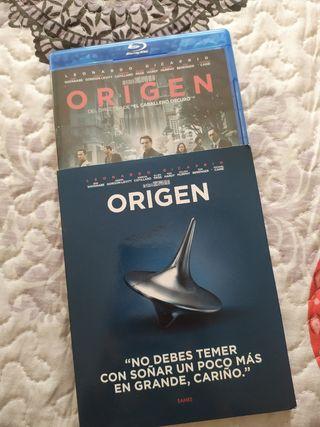 Blu-ray pelicula Origen
