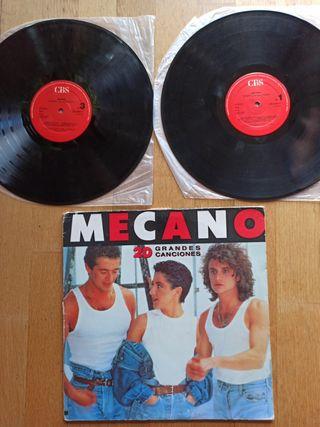 Disco vinilo MECANO