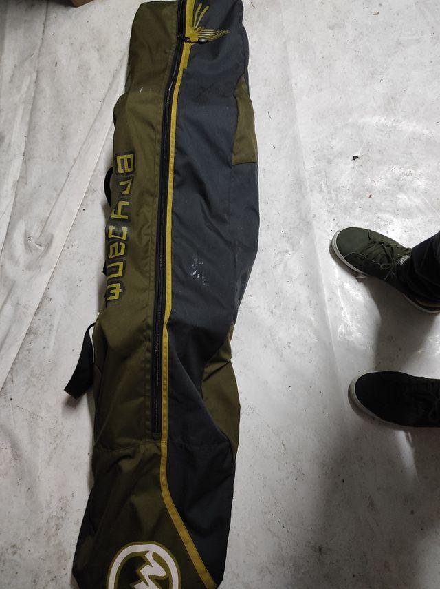 Tabla snow + ataduras + funda
