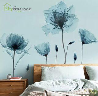 Flores Pegatinas para decoración de Pared