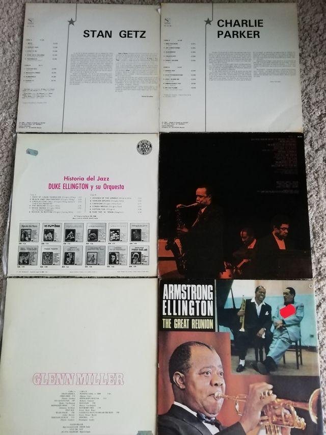 lote o sueltos vinilos jazz