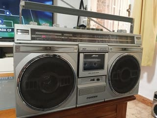 Radio cassette retro vintage Sanyo