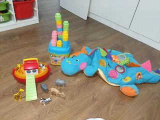 Lote de 6 juguetes bebé de 0-3 años