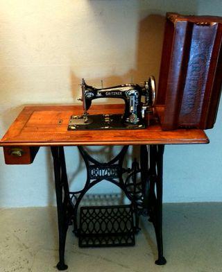Maquina de coser Gritzner