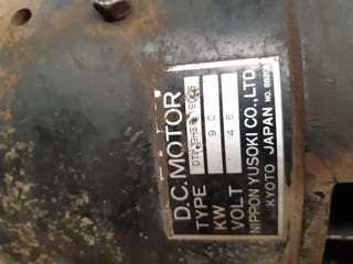 motor carretilla toro eléctrica