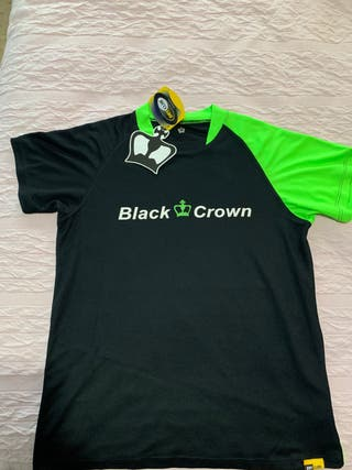 Camiseta black crown..talla M...padel